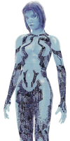 Cortana Full Body scan by ToraiinXamikaze
