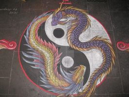 Chalk Art 4 (collaboration) by chalkdragon