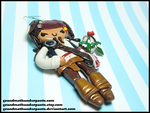 Jack Sparrow Ornament by GrandmaThunderpants