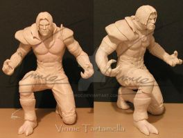 Lt. Raziel sculpture by VinRoc