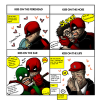 Deadpool kiss meme (what have I done?) by Zombay-Senpai
