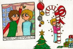 Christmas doodles 2 by BeckyBumble