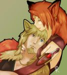 Fox and the Wolf by pinafta1