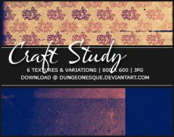 Craft Study Textures by dungeonesque