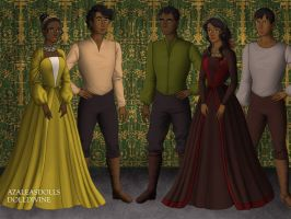 Tiana and Naveen's Family by NightmareDC