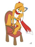 Tails Corra stuck by The-Padded-Room