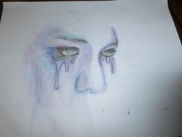 Crying girl by DanielleParker