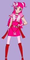 Crystal Pretty Cure- Cure Pink by cupcakeforever18