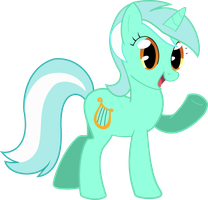 Lyra first vector ever by Nazzaroth