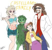 Castellanos Family by aggieandco