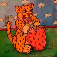 Strawberry Cheetah by MBLASTER