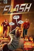 First look at full suited Jay Garrick for Flash S2 by Artlover67
