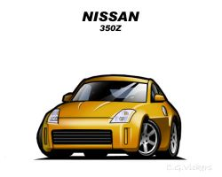 Chibi Nissan 350Z by CGVickers