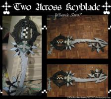 """Two Across """"?"""" Keyblade by Rinkulover4ever50592"""