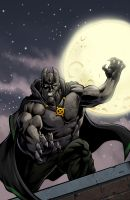 Gargoyle Cover Color by juanromera