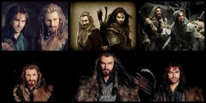 Fili and Kili The Line of Durin Collage by Fleetfoot-Tobermoray