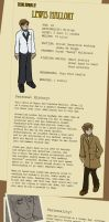 YSI: Lewis Refrence Sheet by Dingbatmouse