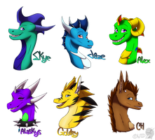 Gift Batch 1 by WinterTheDragoness