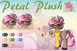 [MLPOC] Petal Plush Ref by Dare2DreamMedia