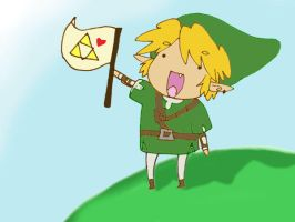 We love the world of Link by Pachaluche