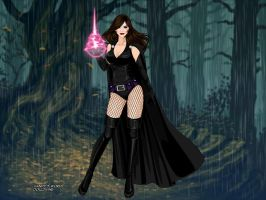Nocturne: True Mistress of the Night Form by BethanyHunter