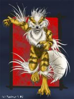 Were-Arcanine by Tacimur