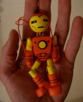 iron man in hand by matt136