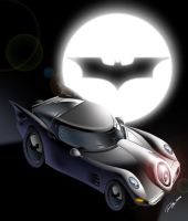 Batmobile by AlexDeB