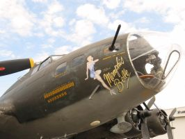 Memphis Belle Nose Art by InDeepSchit