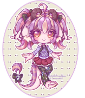 -OFFER TO ADOPT- Pastel goth Nekoryu -OPEN- by MichibanCupcakes