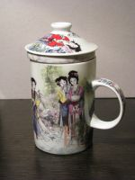 Tea Mug Concubines 01 by Ghost-Stock