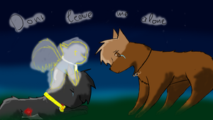 dont leave me alone :contest entry by Accalialove