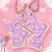 sugar cookie necklace set by CandyStripedCafe