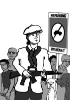 The no parking troubadour by michaelpatrick