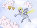 Derpy Muffin Heaven by bIG-O666