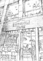 Speed Sketch-cafe by chengxiangarts
