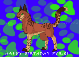 Happy Birthday Pyris by xDeadpuffx