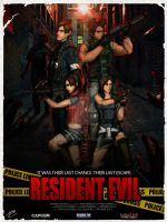 RESIDENT EVIL - A Fan made poster in L4D Style by Akiba91