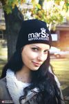 Independence March winter hat - model Ola by N4020
