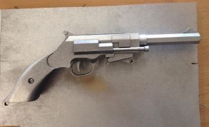 Mal's pistol primed and light chrome coating by Stanbury-dean4668