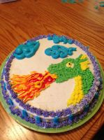 Dragon cake by Endeavor4ever
