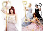 The Kingdom Hearts princesses by Shiya