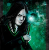 Severus Snape by Irrisor-Immortalis