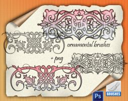 Ornamental Brushes by roula33