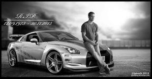 R.I.P. Paul Walker by SpinnerBG