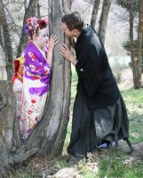 Ode To Kyoto Couple 42 by Falln-Stock