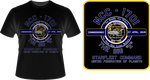USS Enterprise NCC-1701 Commissioning T-Shirt by viperaviator