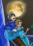 Jack x Elsa: Moonlit Serenade by Infinite-Stardust