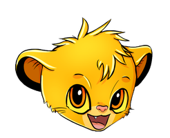 Bday pres. - SIMBA by Creativegreenbeans