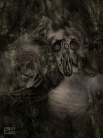 The mummified sisters by Baron-of-Darkness
